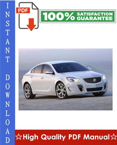 Thumbnail Buick Regal Workshop Service Repair Manual 1997-2004 Download