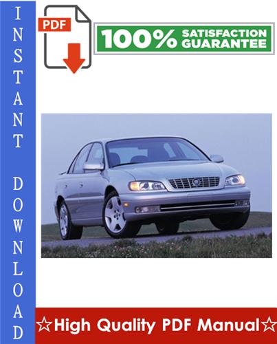 Thumbnail Cadillac Catera Workshop Service Repair Manual 1997-2001 Download