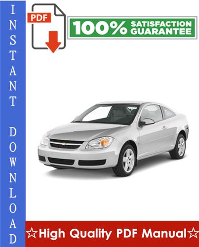 Thumbnail Chevy Chevrolet Cobalt Workshop Service Repair Manual 2005-2007 Download
