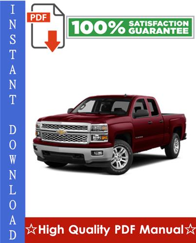 Thumbnail Chevy Chevrolet Silverado Workshop Service Repair Manual 1999-2006 Download