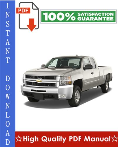 Thumbnail Chevy Chevrolet Silverado Workshop Service Repair Manual 2007-2009 Download