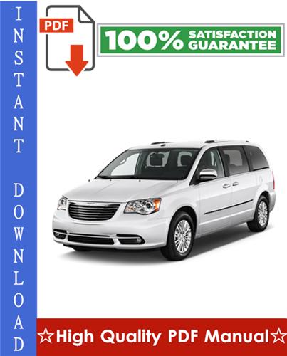 Thumbnail Chrysler Mini Van Workshop Service Repair Manual 1999-2005 Download
