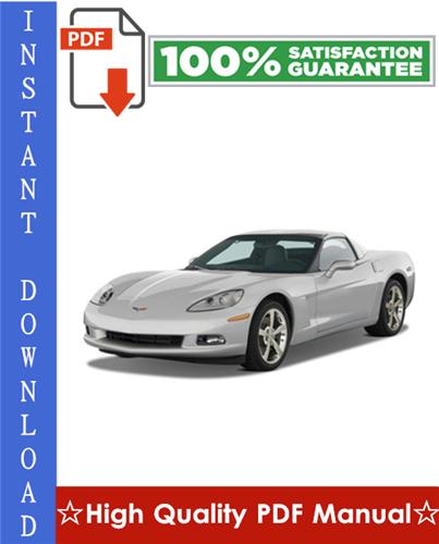 Thumbnail Chevy Chevrolet Corvette Workshop Service Repair Manual 2005-2009 Download