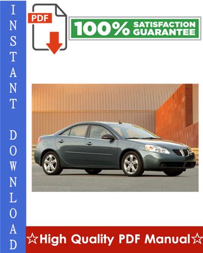 Thumbnail Pontiac G6 Workshop Service Repair Manual 2005-2008 Download
