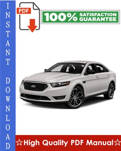 Thumbnail Ford Taurus Workshop Service Repair Manual 2000-2007 Download
