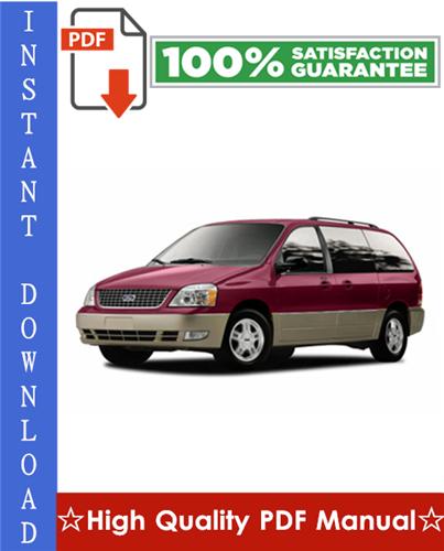 Thumbnail Ford Freestar Workshop Service Repair Manual 2004-2007 Download