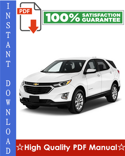 Thumbnail Chevy Chevrolet Equinox Workshop Service Repair Manual 2005-2008 Download
