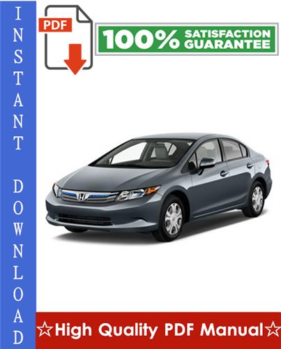 Thumbnail Honda Civic Hybrid Workshop Service Repair Manual 2003-2005 Download