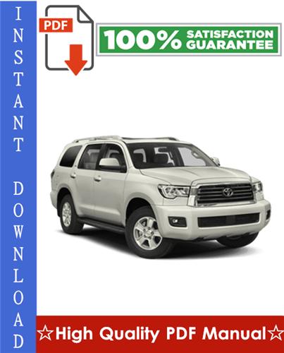 Thumbnail Toyota Sequoia Workshop Service Repair Manual 2001-2007 Download