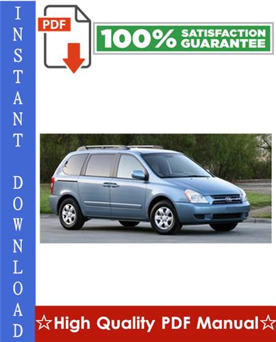 Thumbnail Hyundai Entourage Workshop Service Repair Manual 2007-2009 Download