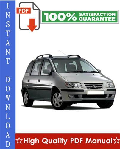 Thumbnail Hyundai Matrix Workshop Service Repair Manual 2002-2005 Download