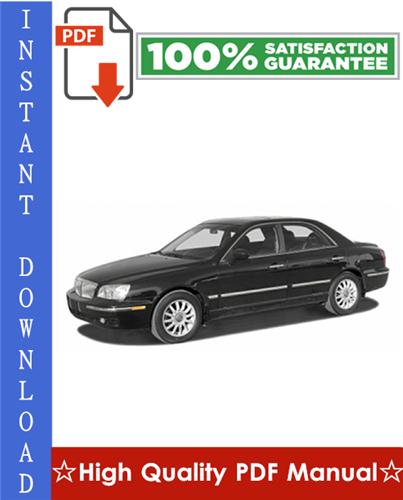 Thumbnail Hyundai XG350 Workshop Service Repair Manual 2000-2005 Download