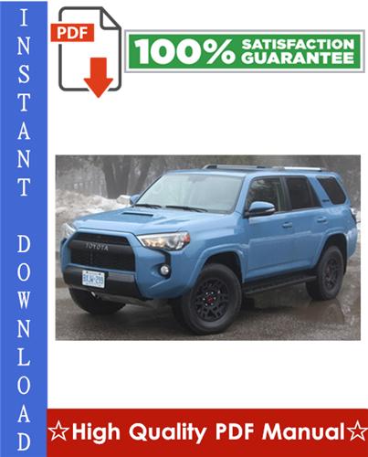 Thumbnail Toyota 4Runner Workshop Service Repair Manual 2003-2008 Download