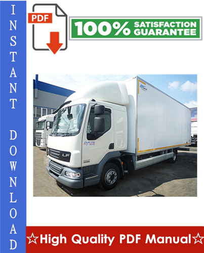 Thumbnail Daf LF45, LF55 Series Truck Workshop Service Repair Manual
