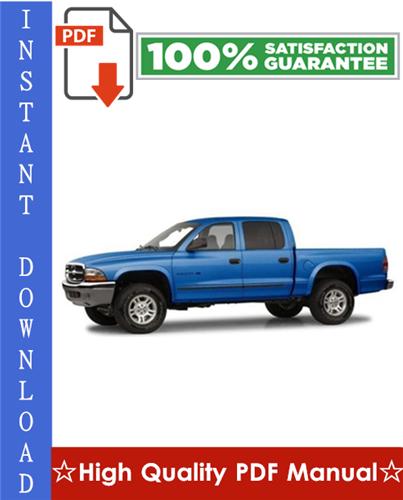 Thumbnail 2001 Dodge Dakota Workshop Service Repair Manual