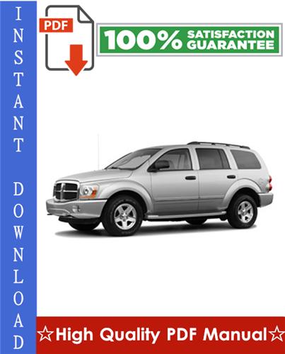 Thumbnail 2004 Dodge Durango Workshop Service Repair Manual