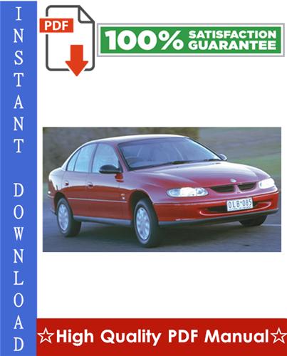 Thumbnail Holden Commodore VT VX VY VU Series Workshop Service Repair Manual 1997-2004 Download