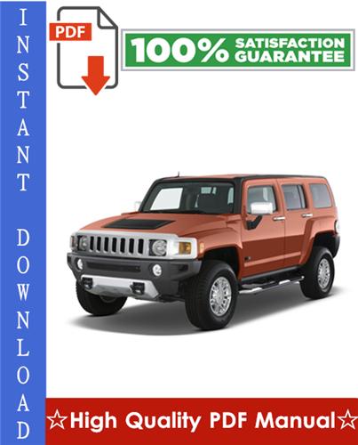Thumbnail GM Hummer H3 Workshop Service Repair Manual 2006-2009 Download