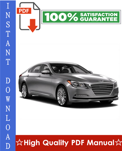 Thumbnail Hyundai Genesis Workshop Service Repair Manual 2009-2010 Download