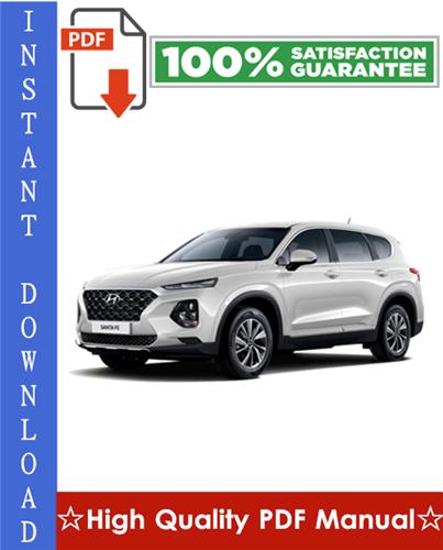 Thumbnail Hyundai Santa FE Workshop Service Repair Manual 2007-2009 Download