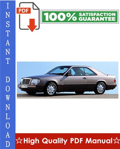 Thumbnail Mercedes-Benz Model 124 Series Sedan/Coupe/Wagon Workshop Service Repair Manual 1986-1995 Download