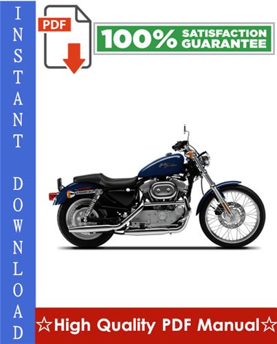 Thumbnail Harley Davidson XL/XLH Sportster Motorcycle Workshop Service Repair Manual 1986-2003 Download