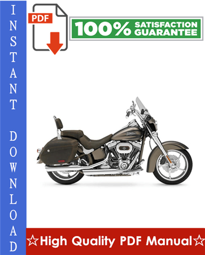 Thumbnail Harley Davidson Softail Motorcycle Workshop Service Repair Manual 1984-1999 Download