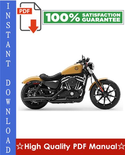 Thumbnail Harley Davidson Sportster Motorcycle Workshop Service Repair Manual 2004-2006 Download