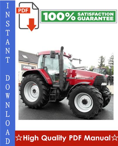 Thumbnail Case MX100, MX110, MX120, MX135 Series Tractors Workshop Service Repair Manual