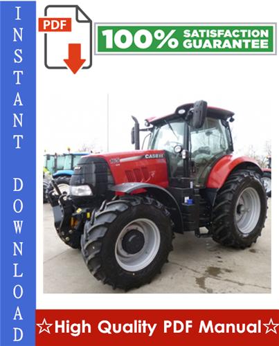Thumbnail Case IH PUMA 165 CVX, PUMA 180 CVX, PUMA 195 CVX, PUMA 210 CVX, PUMA 225 CVX Tractors Workshop Service Repair Manual