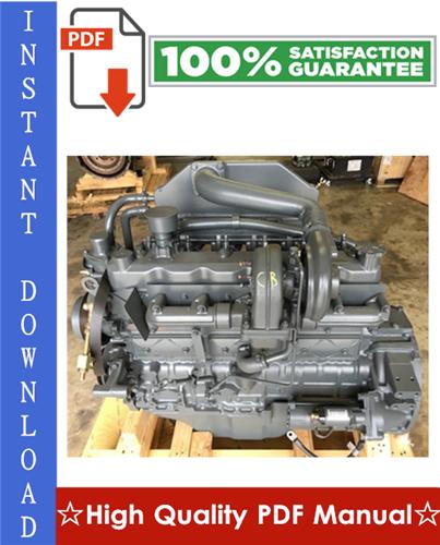 Thumbnail Daewoo Doosan DB58, DB58T & DB58TI Diesel Engine Workshop Service Repair Manual