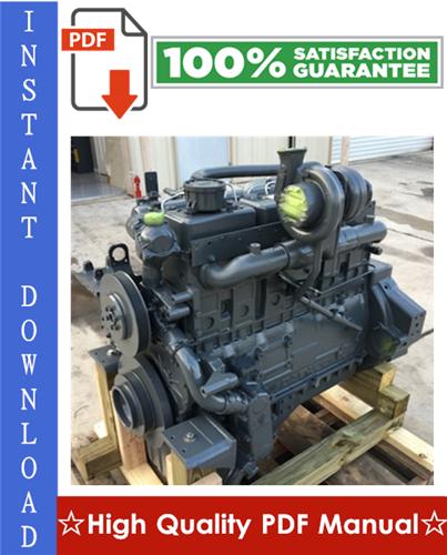 Thumbnail Daewoo Doosan D1146, D1146TI, DE08TIS Diesel Engine Workshop Service Repair Manual