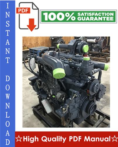 Thumbnail Daewoo Doosan DE12, DE12T & DE12TI & DE12TIS Diesel Engine Workshop Service Repair Manual