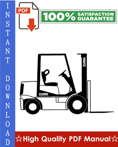 Thumbnail Clark ESM12, ESM15S, ESM15, ESM17, ESM20, ESM22, ESM25 Forklift Trucks Workshop Service Repair Manual