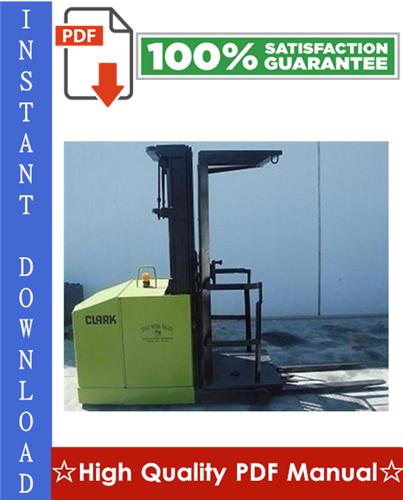 Thumbnail Clark OP15B Forklift Workshop Service Repair Manual