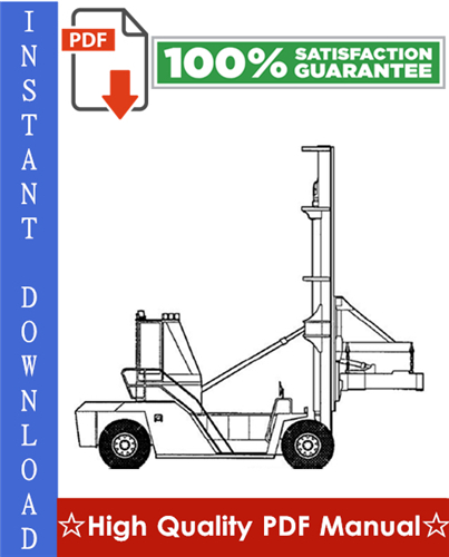 Thumbnail Clark C500 Y 950 Container Handler Truck Workshop Service Repair Manual