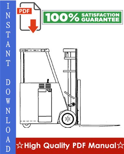 Thumbnail Clark ESM 12, ESM 25 Forklift Workshop Service Repair Manual