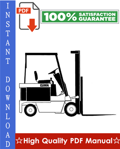 clark gpx 35 gpx 40 gpx 50e forklift service repair manual download
