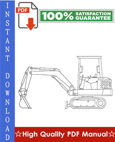 Thumbnail Bobcat X56, X76 Excavator Workshop Service Repair Manual