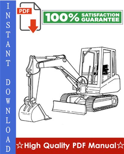 Thumbnail Bobcat X100 Excavator Workshop Service Repair Manual