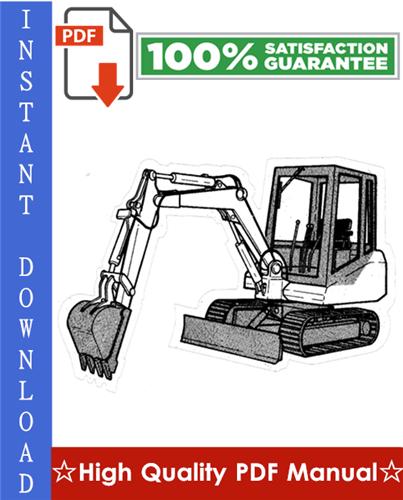 Thumbnail Bobcat 130 Hydraulic Excavator Workshop Service Repair Manual