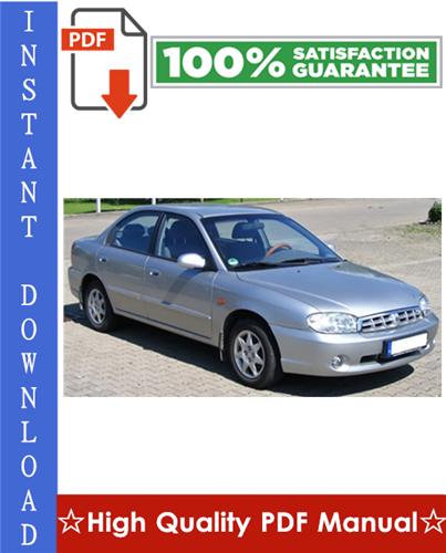 Thumbnail Kia Sephia Workshop Service Repair Manual 1998-2001 Download