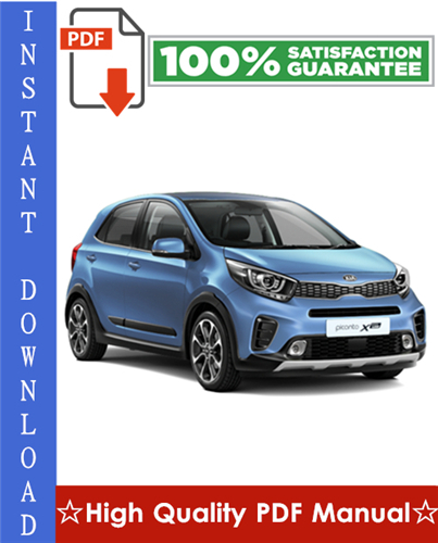 Thumbnail Kia Picanto Workshop Service Repair Manual