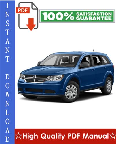 Thumbnail Dodge Journey Workshop Service Repair Manual 2009-2010 Download