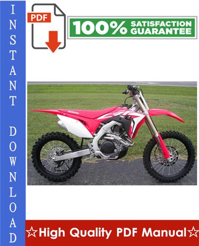 Thumbnail Honda CRF450R Motorcycle Workshop Service Repair Manual 2002-2003 Download