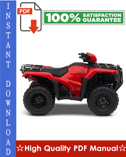 Thumbnail Honda TRX500FA / TRX500FGA Rubicon Foreman Workshop Service Repair Manual 2005-2008 Download