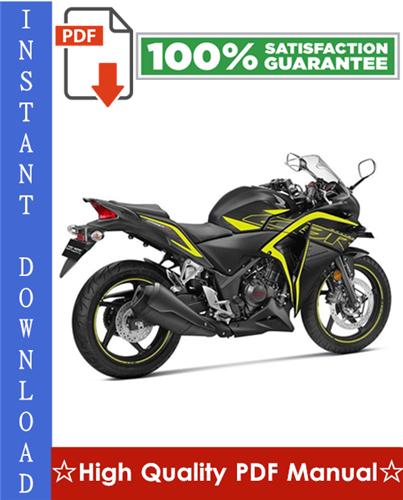 Thumbnail Honda CBR250 FOUR / CBR250R / CBR250RR Motorcycle Workshop Service Repair Manual 1987-1996 Download