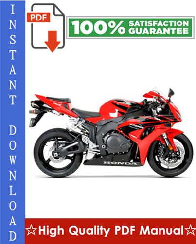 Thumbnail Honda CBR1000RR Motorcycle Workshop Service Repair Manual 2003-2004 Download