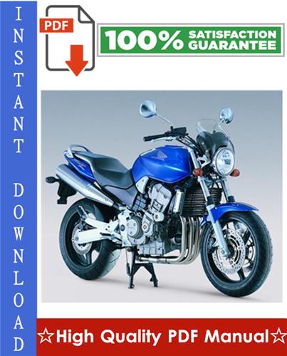 Thumbnail Honda CB900F 919 Motorcycle Workshop Service Repair Manual 2002-2003 Download