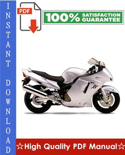Thumbnail Honda CBR1100XX Blackbird Workshop Service Repair Manual 1999-2002 Download